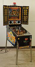 1996 Bally Safe Cracker Pinball Machine.