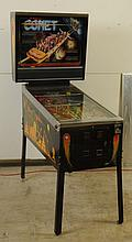 1985 Williams Comet Pinball Machine.