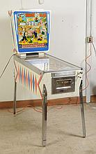1963 Gottlieb Square Head Pinball Machine.