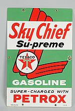 Texaco (White-T) Sky Chief with Petrox Sign.