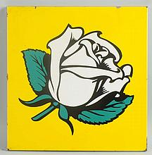(White Rose) Sign