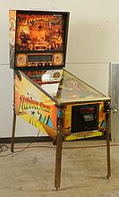 1993 Williams Indiana Jones Pinball Machine.