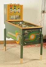 1940 Mills 1, 2, 3, Slot Pinball Machine.