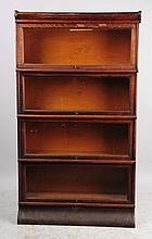 Four Section Oak Book Case.