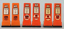 Lot of 3: Phillips 66 Gas Pump S&P; Shaker Sets.