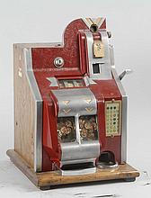 Mills QT 1¢ Chevron Slot Machine.