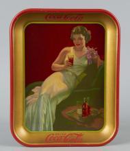 Coca Cola Hostess Tin Serving Tray