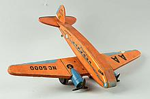 Fisher Price Paper on Wood No. 170 Airplane Toy.