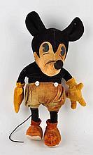 German Walt Disney Steiff Mickey Mouse Doll.