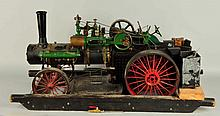 Case Intricate To Scale Working Model Tractor.