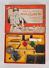 Scare Early Metal Casting Set.