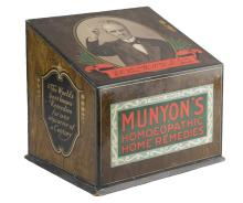 Munyon's Homeopathic Home Remedies Counter Display