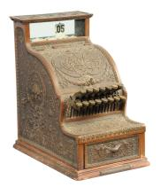 National Cash Register Brass Candy Store Model 310
