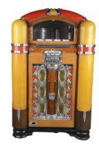 Multi-Coin Wurlitzer Model 800 Jukebox.