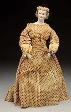 Parian Lady w/Unusual Body.