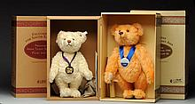 Two Rare Steiff Limited Edition Bears.