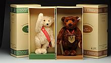 Two Limited Edition Steiff Teddy Bears.