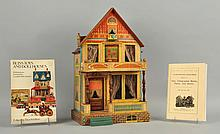 Bliss Toy Wooden Litho House with Accessories.