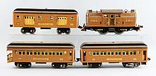 Lot Of 4: Lionel No. 318E Baby State Set.