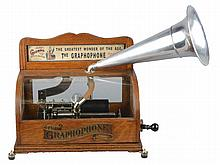 5¢ Columbia Type BS Graphophone Cylinder Player