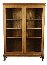 Oak And Glass Display Case China Cabinet