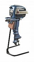 Evinrude FleeTwin 7522 7.5 HP Outboard Motor