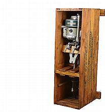 Evinrude LightFour 4389 Outboard Motor & Crate