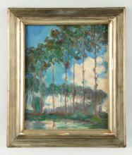 Painting Of Trees.