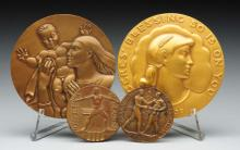 Lot Of 4: Collector's Medals.