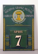 National Grange Mutual Insurance Calendar .