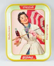 1957 Coca-Cola Serving Tray.