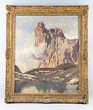 European Mountain Landscape.