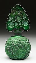 Art Glass Perfume Bottle.
