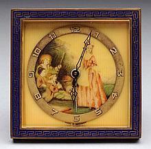 Kienzke Blue Desk Clock.