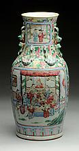 1870s Chinese Export Porcelain Vase.