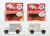 Lot of 2: Armored Truck Banks.