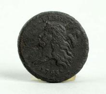 1793 Half Cent Liberty Cap.