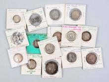 Lot of 17: Early English Coins.