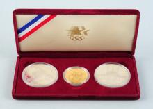 1984 Gold & Silver Olympic Coins.