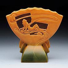 Roseville Silhouette Nude Vase.