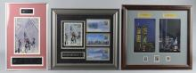 Lot Of 3: 9/11 Commemorative Displays