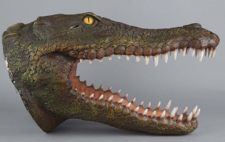 Alligator Crocodile Head Wall Mount Replica