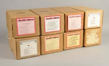 Lot Of 8: G-Style 65 Note Player Piano Rolls G467+