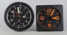 Lot Of 2: Battery-Op Watch Dealer's Display Clocks