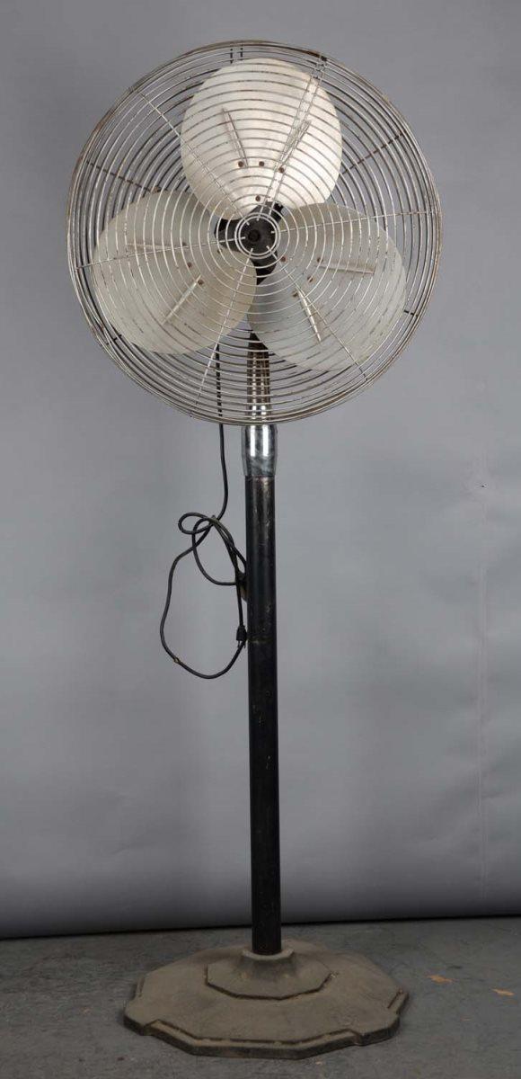 Electric Floor Fans : Vintage general electric floor model fan