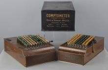 Lot of 3: Comptometers and Calculating Device