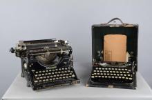 Lot Of 2: Old Underwood #5 & Remington Typewriters