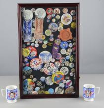 Collection Of Presidential Campaign Memorabilia