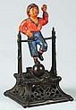 Boy On Trapeze Mechanical Bank.