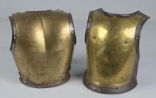 Two Pieces of Plate Armor.